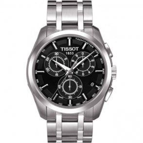 Tissot Gents Couturier Watch on a Stainless Steel Bracelet