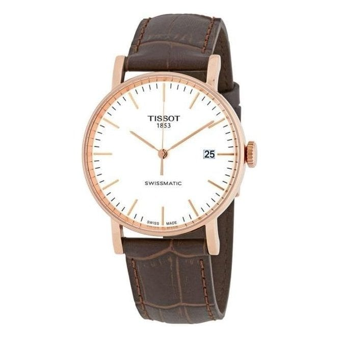 Tissot Watches Gents Tissot Automatic strap watch T1094073603100