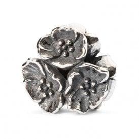 Trollbeads Silver Cherry Blossom Pendant