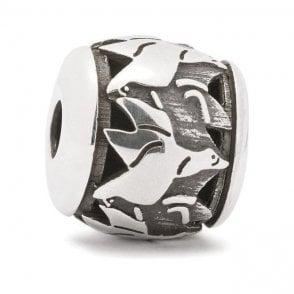 Trollbeads Silver Flying Geese