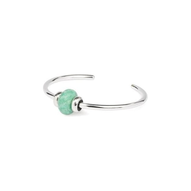 Trollbeads Silver Minty Macaroon Small Bangle