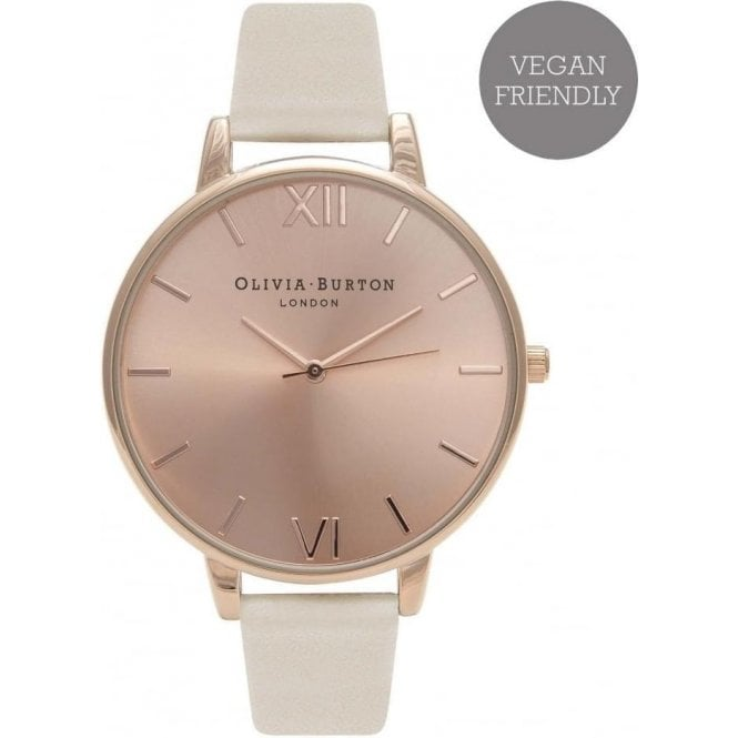Olivia Burton Watches Vegan friendly nude & rose gold watch OB16BDV01