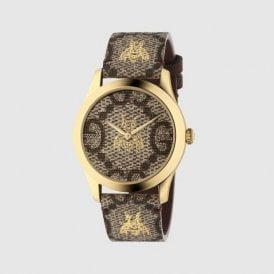 Yellow PVD G-Timeless Gucci quartz YA1264068
